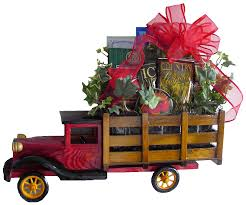 Birthday Gift Baskets For Men 1925 Stake Truck Antique Delivery Truck Gift Baskets Men Wooden