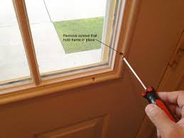 home window repair cost how to replace a glass frame in an exterior door