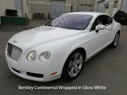 bentley continental matte white wrap wrap district toronto custom car wrapping window tinting and more