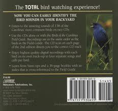 birds of the carolinas audio cds companion to birds of the