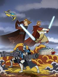 j and j productions star wars clone wars 2003 review