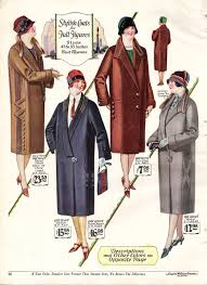 history of 1920s coats furs and capes