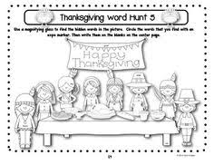 1st grader thanksgiving activities festival collections