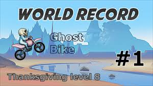 bike race my world record thanksgiving level 8 ghost