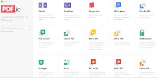 varias imagenes a pdf online pdf io conversión de pdf a distintos formatos y viceversa
