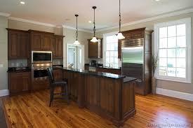Walnut Kitchen Designs Kitchen Kitchen Cabinets Traditional Wood Walnut Color Bi