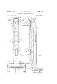 patent us2591265 bowling alley sweeper mechanism google patents