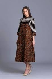 gambar model baju batik modern 2 dari 50 lebih gambar model baju batik modern terbaru 2018 yang