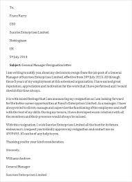 resignation letter resignation letter due to management after