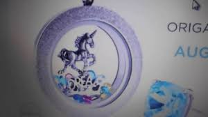 origami owl once upon a dream unicorn locket free incentive august