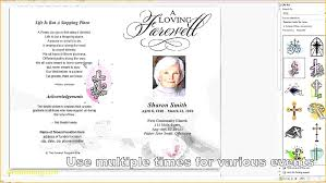 sle funeral programs lovely lds funeral program template pictures inspiration