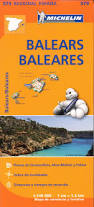 Mallorca Spain Map by 579 Michelin Regional Map Baleares Mallorca Menorca U0026 Ibiza