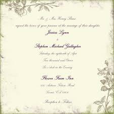 wedding invitations free sles wordings wedding invitations text plus wedding invitations
