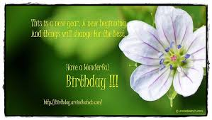 flower birthday card on a new beginning true picture hd birthday
