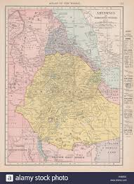 Djibouti Map Abyssinia Eritrea French Somali Coast Djibouti Ethiopia Rand