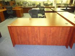 Used Office Furniture Charlotte by Shaped Desk Charlotte Nc