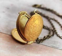 necklace with locket images Gold locket necklace graduation gift for her mother gift necklace jpg