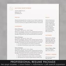 Professional Resume Design Templates Instant Download Resume Template Cv Template For Ms Word