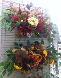 Halloween Wreaths Michaels by Floral Swags By Kristy Michaels My Floral Designs Michaels