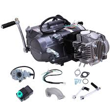 125cc manual clutch 4 stroke engine motor atv quad dirt bike for