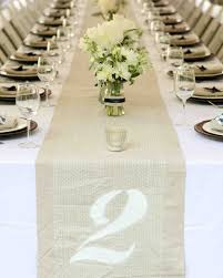 table numbers wedding unique wedding table numbers martha stewart weddings