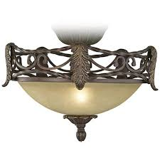 Oil Rubbed Bronze Chandelier Chain Acanthus Pull Chain Ceiling Fan Light Kit In Scavo Glass U0088