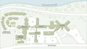 Portland State University Map by Campus Map Willamette View Retirement Living