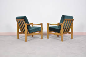 Modern Teak Outdoor Furniture by Mid Century Modern Teak Lounge Chairs Set Of 2 For Sale At Pamono