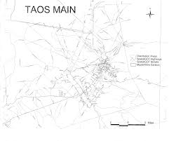 Taos New Mexico Map by The Northern New Mexico Telecommunications Advocacy Group T A G