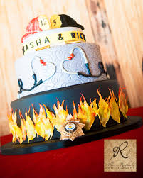 firefighter wedding firefighter emt wedding cake shared by lion thanks for