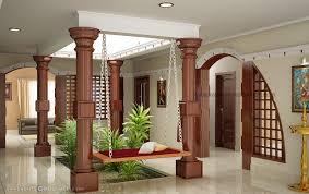 traditional kerala home interiors courtyard for kerala house living room interiors pdf