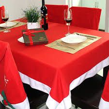 cloth chair covers 184x128cm christmas table cloth rectangle table cover home