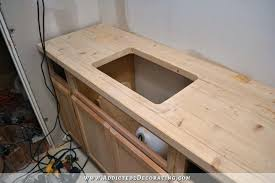 cutting countertop for sink cutting countertop pine style with hole cut out for sink cutting