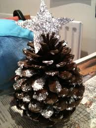 Decorating Pine Cones With Glitter Twig Trees Greenmumsblog
