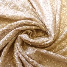 jn00557 champagne full facet sequins with glitter on 2 way stretch