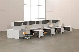 National Waveworks Reception Desk Benching Systems Bernards Office Furniture