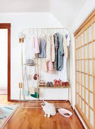 bedroom furniture sets enclosed clothes rack hanger stand for