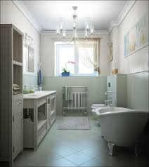 Small Bathroom Chandelier Bathroom Excellent Image Of Blue White Small Bathroom Shower