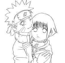 naruto shippuden coloring pages hinata download free