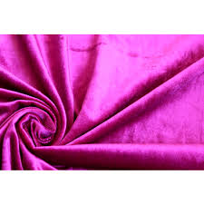 Home Decor Weight Fabric by Pink Fuchsia Cotton Velvet Upholstery Weight Fabric Commercial