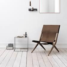Leather Lounge Chair Saxe Leather Lounge Chair By Lassen Kontrast Furniture