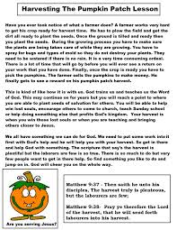 pumpkin parable printable ultimate homeschool board pinterest