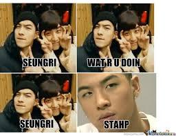 Bigbang Memes - bigbang seungri and taeyang by yoonjaepark meme center