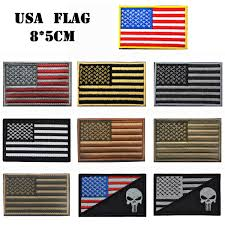 Country Flags Patches 30 Pcs Embroidered Usa Flag 3d Tactical Combat Badge Fabric Usa