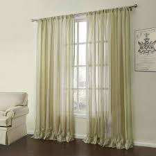 Curtains Sheer Curtains One Panel Modern Jacquard Yellow