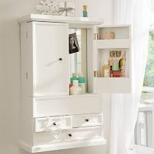 Wall Cabinet Bathroom Hannah Beauty Wall Cabinet Pbteen