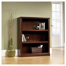 target 3 shelf bookcase 3 shelf bookcase select cherry sauder target