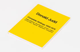 Bright Yellow Bathroom Rugs by Donald Judd Complete Writings 1959 U20131975 Announcements E Flux