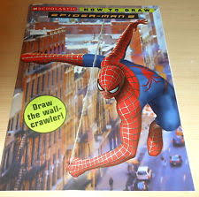 spiderman drawing book ebay