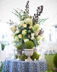hydrangea wedding centerpieces green wedding centerpieces martha stewart weddings